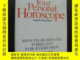 二手書博民逛書店Your罕見Personal Horoscope: Month-