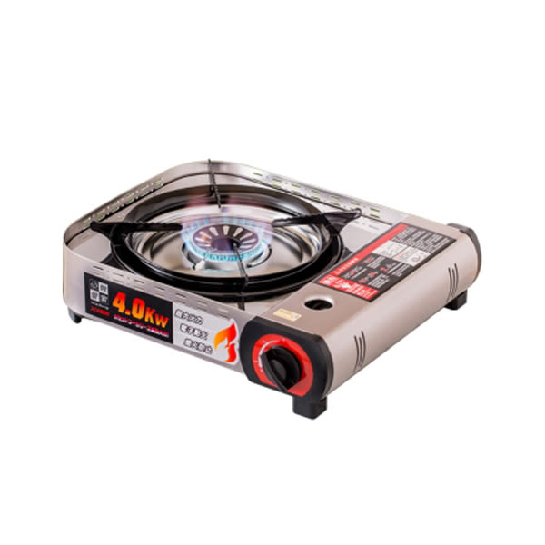 [House Keeper] 妙管家 4.0KW 高功率電子點火卡式瓦斯爐 (X4000)