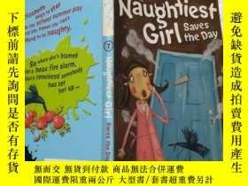 二手書博民逛書店the罕見naughtiest girl saves the day: 最淘氣的女孩拯救了這一天Y200392