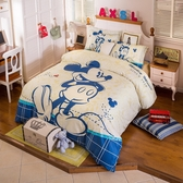 標準雙人床包組 米老鼠 迪士尼床包 卡通床包 米奇 米妮 小朋友床組 Disney授權 佛你雜貨店