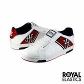 Royal Elastics Icon Alpha 經典運動鞋-白x夜藍x艷紅