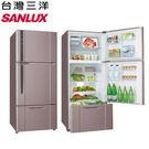 《台灣三洋SANLUX》 480三門變頻直流電冰箱SR-C480BV1