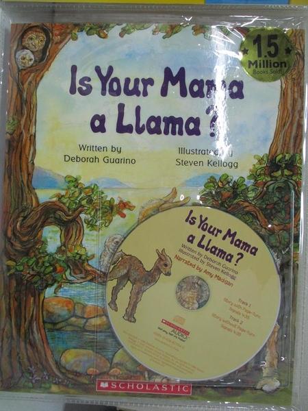 【書寶二手書T1/原文小說_DMW】Is Your Mama a Llama Read Along Trade