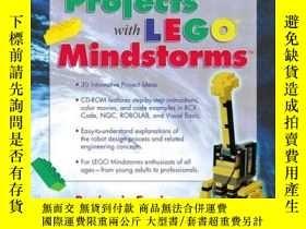 二手書博民逛書店Creative罕見Projects with LEGO Mindstorms-樂高Mindstorms創意項目奇