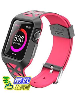 [美國直購] i-Blason (42mm) 藍紅兩色 Apple Watch 2 Case [Unity Series] 鏤空 手錶保護殼