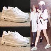內增高小白鞋子女2019夏款夏季透氣百搭基礎厚底洋氣休閒春款潮鞋 降價兩天