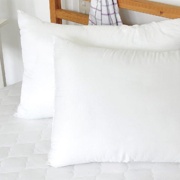 枕頭 - 彈力枕頭 [紮實內棉 減壓舒心 用料實在] 寢居樂 台灣製