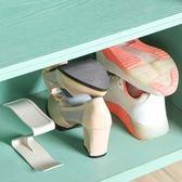 ◄ 生活家精品 ►【P413】一體式收納鞋架  家居用品 加厚 鞋托架 簡易 雙層 塑料鞋架