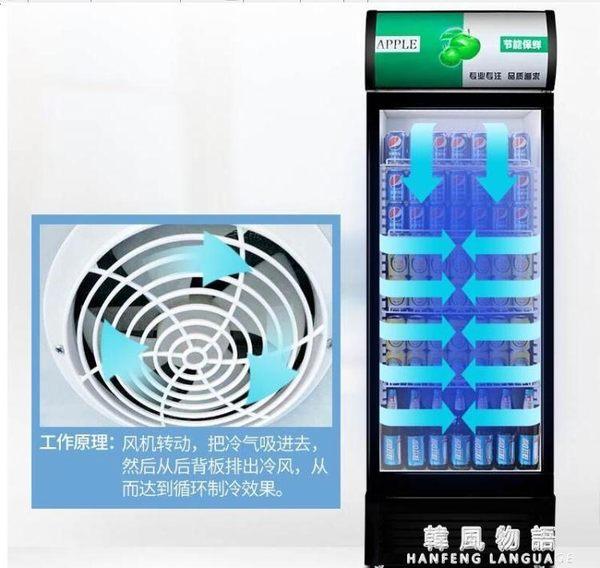 展示櫃冷藏櫃立式商用雙門冰櫃冰箱啤酒超市水果保鮮櫃飲料櫃igo 韓風物語