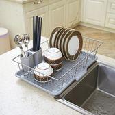 碗筷置物架瀝水架大號碗碟架廚房置物架 igo樂活生活館
