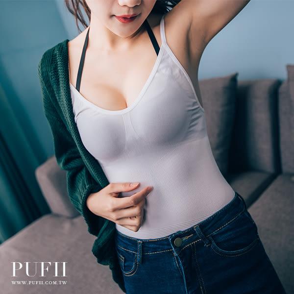 (現貨-白款)PUFII-束腹衣 一體成形S腰線束腹塑身衣 2色 - 1201 現+預 冬【AP11714】