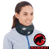 【MAMMUT 長毛象】圍脖『黑/白』1191-05812 戶外 運動 露營 跑步 馬拉松 頭巾 髮帶 圍巾 休閒帽
