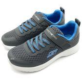 《7+1童鞋》中童 SKECHERS 97774LCCBL  輕量 透氣  運動鞋 慢跑鞋 C902 灰色