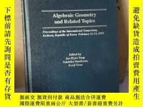 二手書博民逛書店algebra罕見and geometry and relate