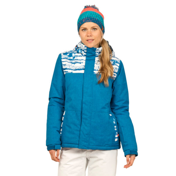 PROTEST 女 防水保暖外套 (寶石藍) ESSEX SNOWJACKET