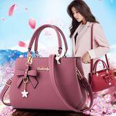 手提包女包時尚大包 韓版側背包休閒斜背包春季女士包包手提包 千千女鞋