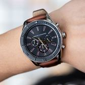A/X Armani Exchange 亞曼尼 AX1822 名人風範三眼計時腕錶 熱賣中!
