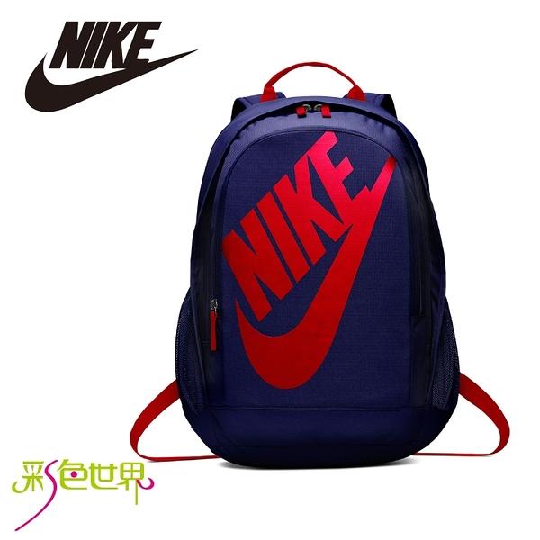 NIKE耐吉後背包運動背包 藍色 BA-5217-492 彩色世界