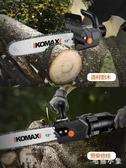 充電式電鋸家用伐木鋸無線鋰電多功能角磨機改裝電鏈鋸戶外 FX2067 【毛菇小象】