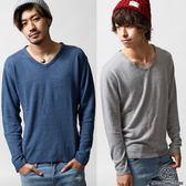 現貨V領毛衣針織衫