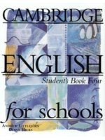 二手書博民逛書店《Cambridge English For Schools 4