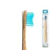 Humble Brush 瑞典竹製小款超軟毛牙刷 - 藍色(女性兒童皆適用)