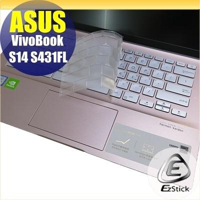 【Ezstick】ASUS S431 S431FL 奈米銀抗菌TPU 鍵盤保護膜 鍵盤膜