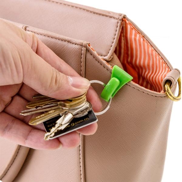 泰博思 包包內掛鉤2入組 內置鑰匙夾便攜掛鉤 方便攜帶鑰匙【F0071】