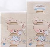 加厚大號收納箱塑膠抽屜式收納盒玩具兒童寶寶衣服儲物箱整理箱子 NMS 露露日記