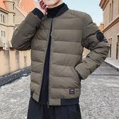 羽絨男士棉服棉衣棉襖型男外衣 冬天加絨夾克冬天加厚休閒上衣 男生男款冬裝保暖冬季百搭外衣