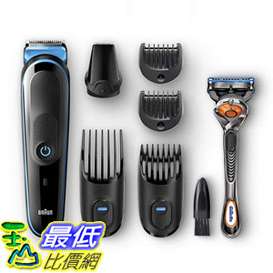 [8美國直購] 鬍鬚修剪器 Braun 7-in-1 All-In-One Trimmer MGK5045, Beard Trimmer Hair Clipper