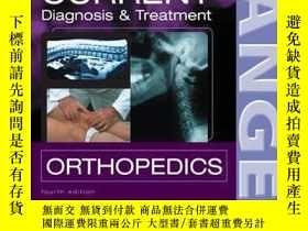 二手書博民逛書店Current罕見Diagnosis And Treatment In OrthopedicsY364682
