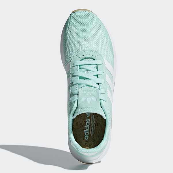 Adidas FLB_Runner 女鞋 慢跑 休閒 李聖經 Flashback 膠底 粉綠 【運動世界】 DB2122