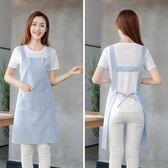 圍裙韓版時尚廚房防水防油女做飯廚房家用圍腰可愛女式工作服