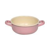【奧地利RIESS】琺瑯雙耳農夫鍋/農夫缽14cm(粉紅色)
