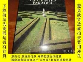 二手書博民逛書店GARDENS罕見LABYRINTHS PARADISE(花園錯