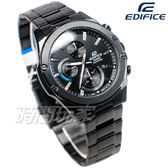 CASIO卡西歐 EDIFICE EFR-S567DC-1A 輕薄  不銹鋼 日期 男錶 IP黑電鍍 EFR-S567DC-1AVUDF