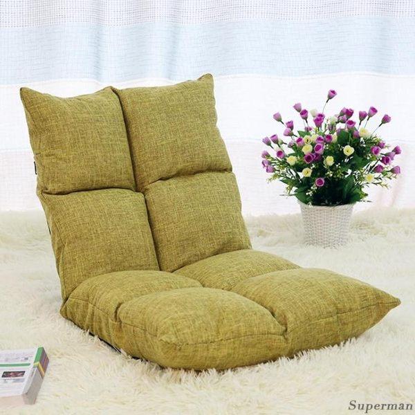 懶人沙發 榻榻米可折疊單人小沙發床上電腦椅宿舍飄窗日式靠背椅jy【店慶八折特惠一天】