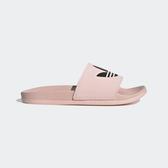 Adidas Adilette Lite [EG8682] 女 運動 涼鞋 拖鞋 休閒 舒適 輕量 三葉草 愛迪達 粉