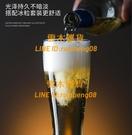 1個起 小麥啤酒杯精致玻璃精釀扎啤杯子【雲木雜貨】