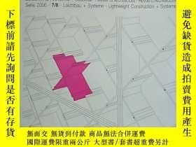 二手書博民逛書店德語原版Detail建築細部雜誌,2006年7 8,主題:罕見采光系統Y286055 Detail Detai