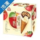 杜老爺蘋果牛奶甜筒82G*4入/盒【愛買...