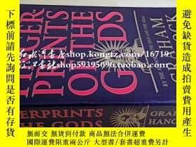 二手書博民逛書店英文原版finger罕見prints of the godsY1