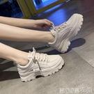 增高鞋女 老爹鞋潮女鞋子新款百搭小白運動休閑季女鞋 快速出貨