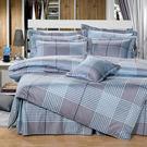【Novaya‧諾曼亞】《莫菲斯科》絲光綿雙人四件式鋪棉兩用被床包組