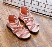 女童涼鞋 夏季新款兒童中大童透氣公主鞋韓版學生防滑時尚 DN8698【野之旅】