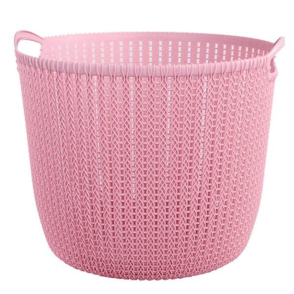 仿藤編塑料洗衣籃臟衣收納籃玩具收納籃子