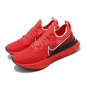 Nike 慢跑鞋 React Infinity Run FK 紅 黑 男鞋 運動鞋 【PUMP306】 CD4371-600