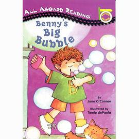 All Aboard Reading系列:BENNYS BIG BUBBLE