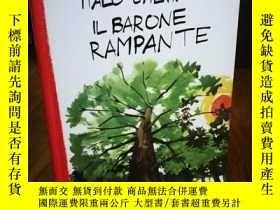 二手書博民逛書店ITALO罕見CALVINO IL BARONE RAMPANT